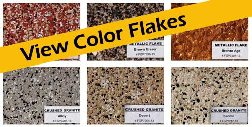 Countertop Paint Flakes : Garage Floor Painting Refinishing by Witcraft Painting & Decorative ...