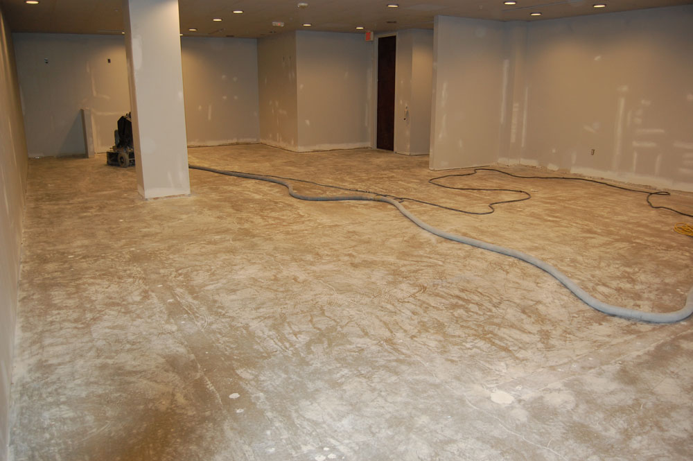 Commercial Epoxy Floor Showroom Beazer Homes Raleigh Nc Witcraft Painting
